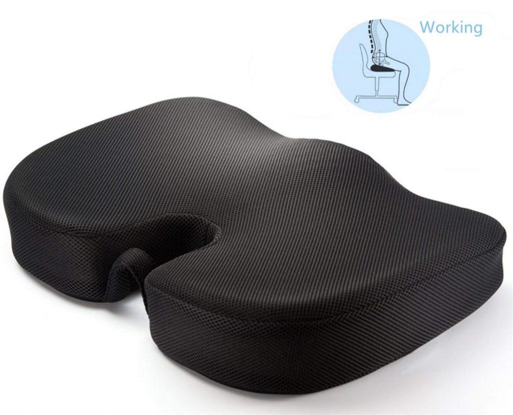 Meditive Orthopedic Seat Cushion for Sciatica