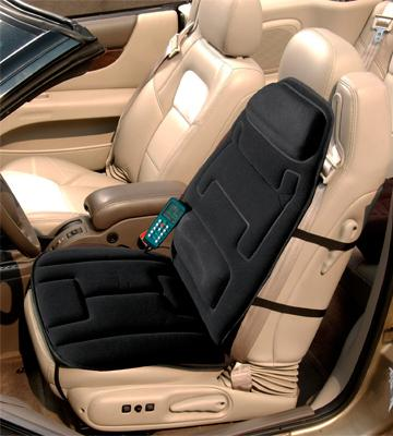car seat massager in India for back pain while driving