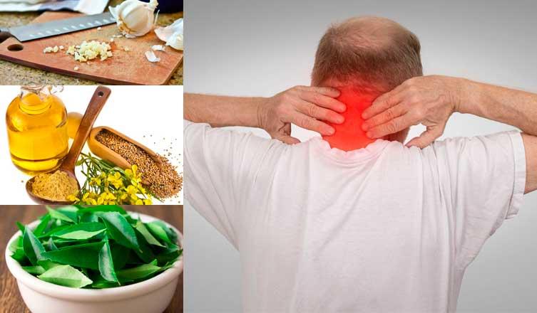 Home remedies for Cervical Spondylosis & Spondylitis