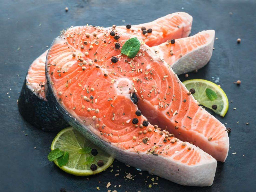 Fish rich in Omega 3 fatty acids