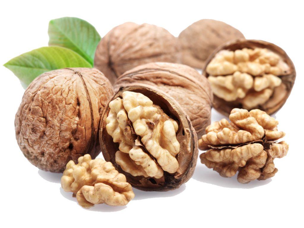 Walnuts are rich in Omega 3 fatty acids