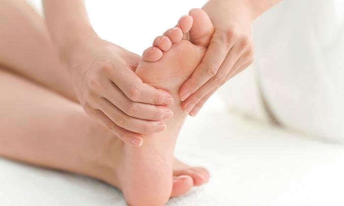 self foot massage at home