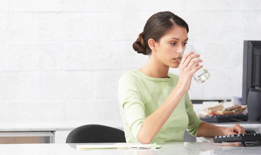Water retention in women