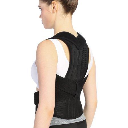 Shoulder Belt with Back Brace for Rounded Shoulders