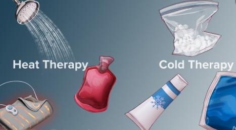 Heat and Cold Therapy for Knee pain and Osteoarthritis