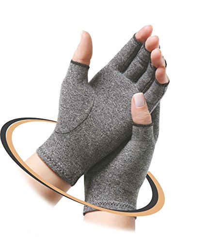 Hand gloves for joint pain, swelling, numbness, tingling, osteoarthritis, rheumatoid arthritis