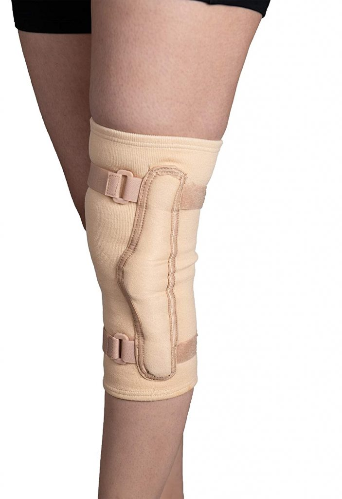 Wonder Care Hinged Knee Cap/Brace Compression Support